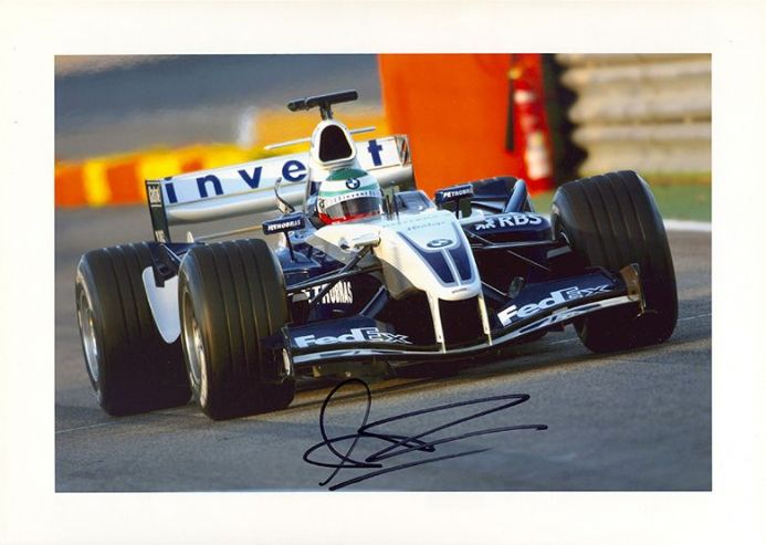 Andy Priaulx, motor racing driver, signed 12x8 inch photo.